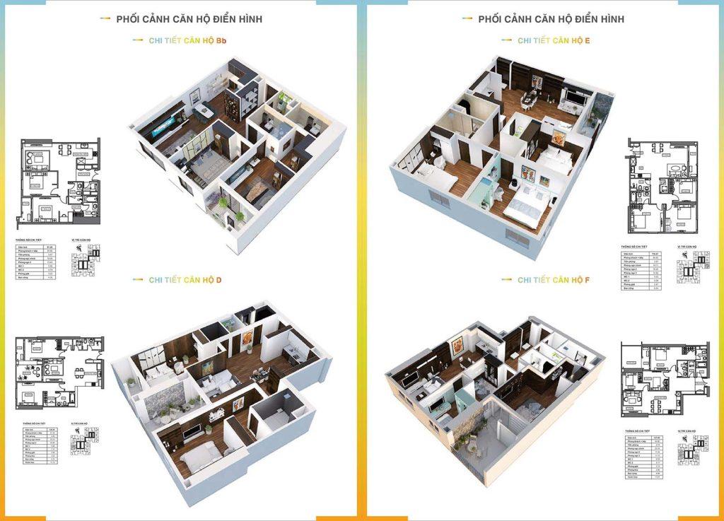 Mẫu thiết kế căn hộ HPC Landmark 105